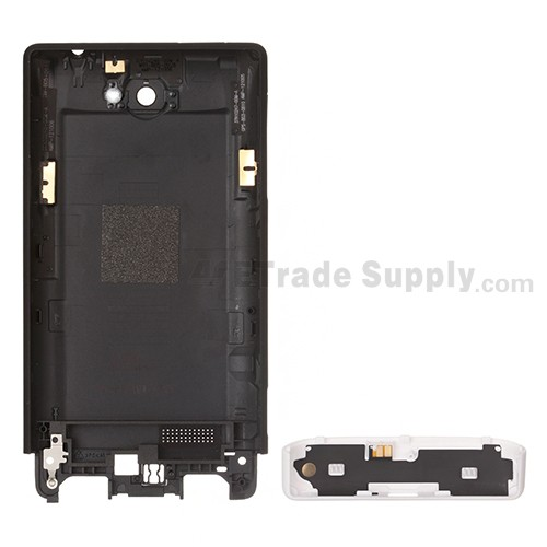 The Back Part of the HTC 8S Rear Housing and Bottom Cover