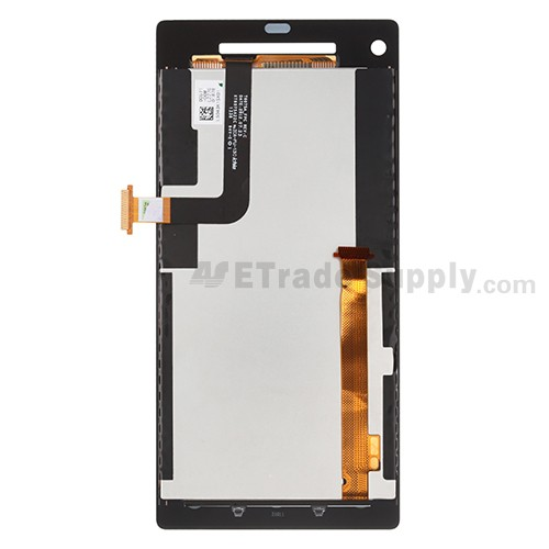 The Back Part of HTC 8X LCD Screen and Digitizer Assembly