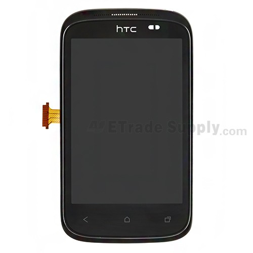 htc desire c lcd screen and digitizer assembly with frame etrade rh etradesupply com HTC Mobile HTC Beats Audio Phone Case