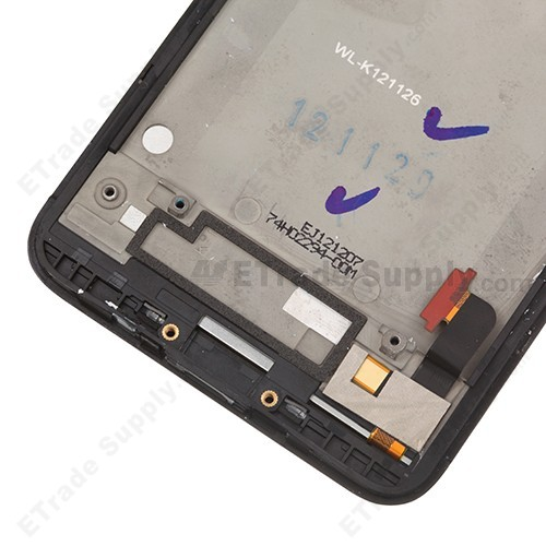 HTC Droid DNA LCD Screen and Digitizer Assembly with Front Housing and Light Guide