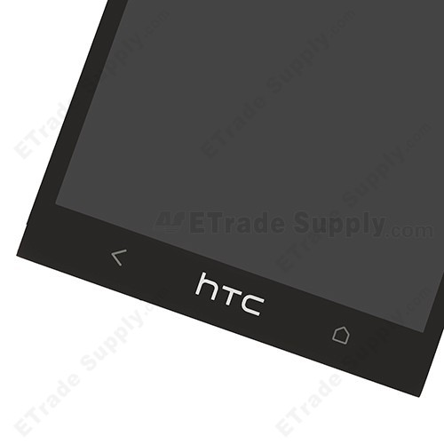 The Bottom Part of the HTC One M7 Screen Replacement