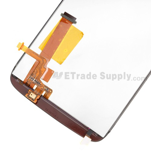 HTC Sensation XE LCD Screen and Digitizer Assembly with Microphone Flex Cable Ribbon