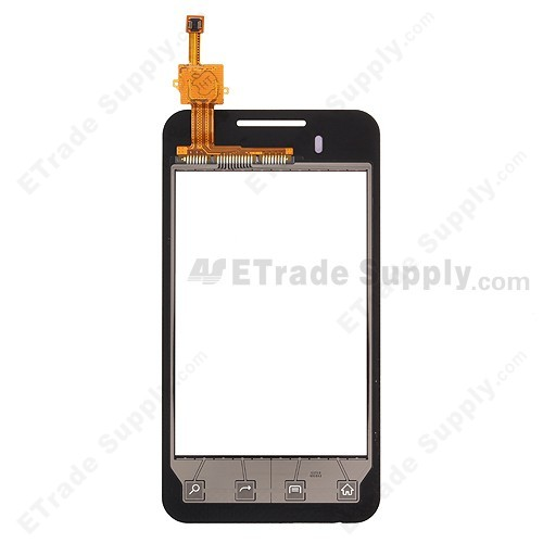 The Back Part of LG Optimus Elite VM696 Digitizer Touch Screen