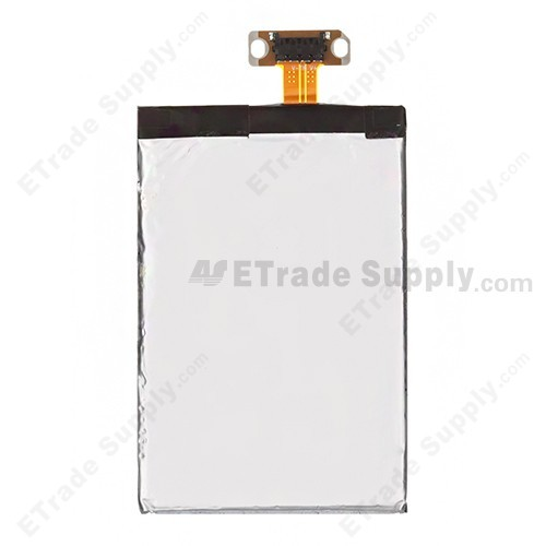 The Back Part of LG Optimus G E975 Battery