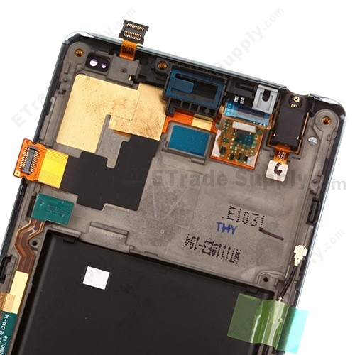 For LG Optimus L9 P769 LCD Screen and Digitizer Assembly with Front Housing  Replacement ,Black, With T-Mobile and LG Logo - Grade S+