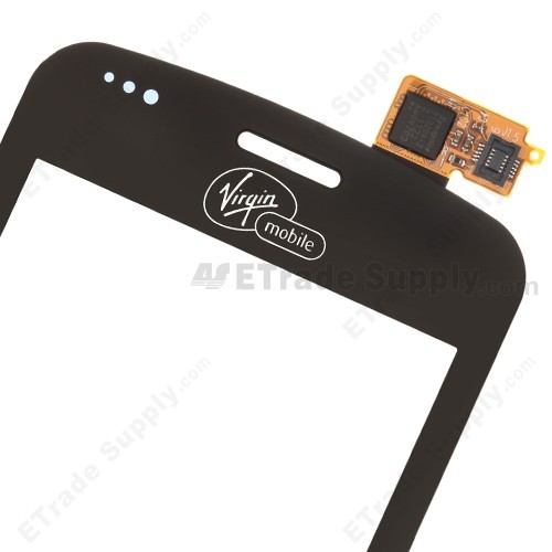 The Top Part of LG Optimus Slider VM701 Digitizer Replacement