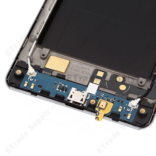 LCD Screen and Digitizer Assembly with Frame for LG Spirit 4G MS870