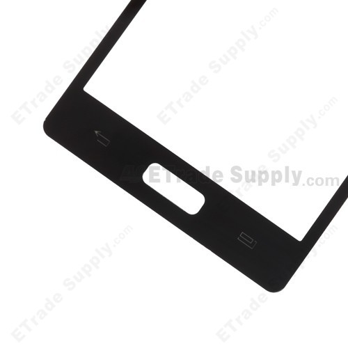 LG Venice LG730 Digitizer Touch Screen Front Side Bottom Part