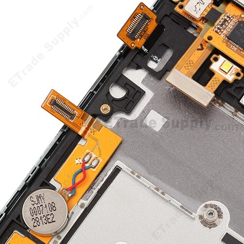 LG Venice LG730 LCD Screen and Digitizer Assembly with Front Housing