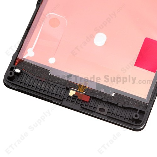 Nokia Lumia 820 Front Housing Back Side Bottom Part