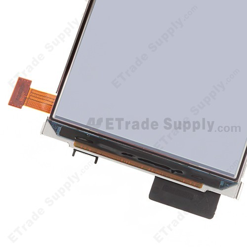The Bottom Part of Nokia Lumia 820 LCD Screen with Metal Frame