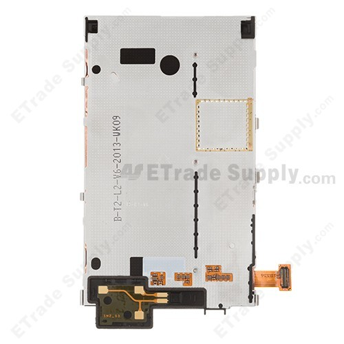 The Back Part of Nokia Lumia 820 LCD Screen with Metal Frame