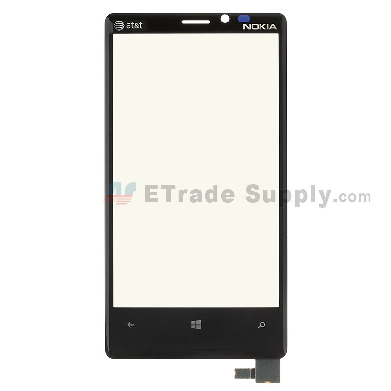 nokia lumia 920 white. for nokia lumia 920 digitizer touch screen with adhesive and light guide replacement - logo white )