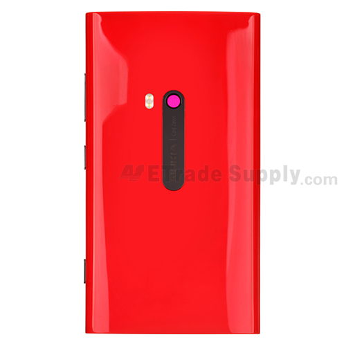 Nokia Lumia 920 Rear Housing with Wireless Charging Coil (Red Version)