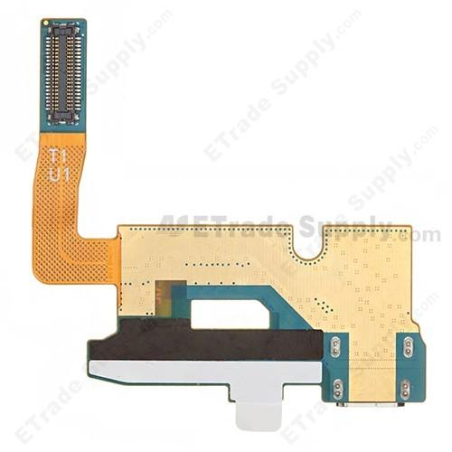 Samsung Galaxy Note II LTE N7105 Charging Port Flex Cable Ribbon