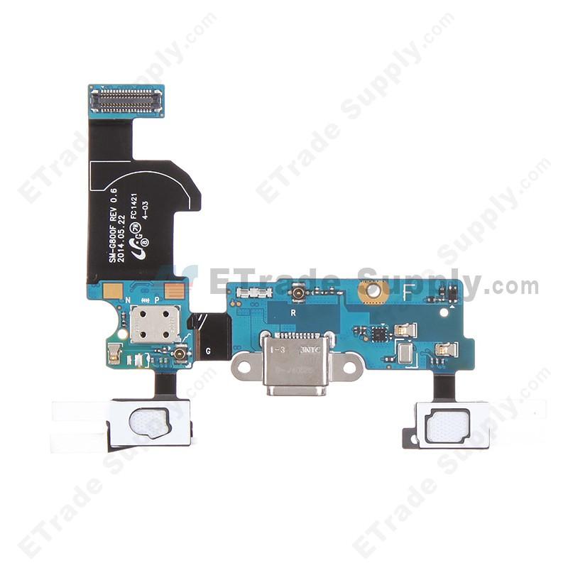 Samsung Galaxy S5 Mini Usb Port Flex Cable Ribbon Assembly