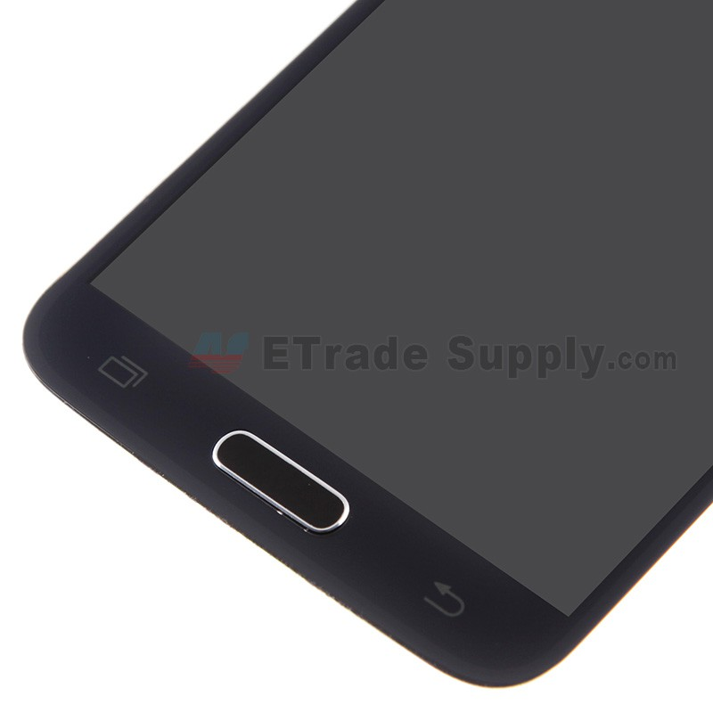 Samsung Galaxy S5 Sm G900 Lcd Assembly With Home Button Black