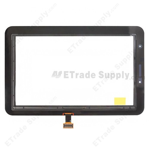 The Back Part of Samsung Galaxy Tab 2 7.0 P3110 Digitizer Touch Screen