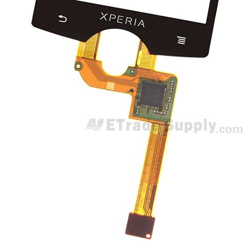 The Flex Ribbon of Sony Ericsson Xperia mini ST15i Digitizer Touch Screen