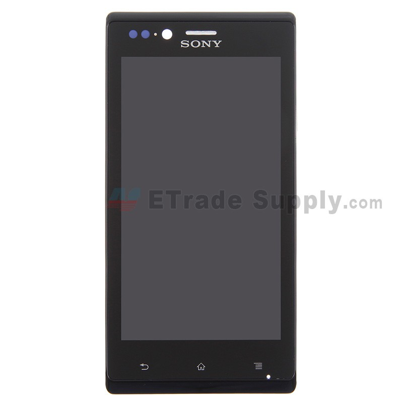 sony xperia j st26i lcd and digitizer assembly with front housing rh etradesupply com Sony Xperia J Pink sony xperia j st26i manual