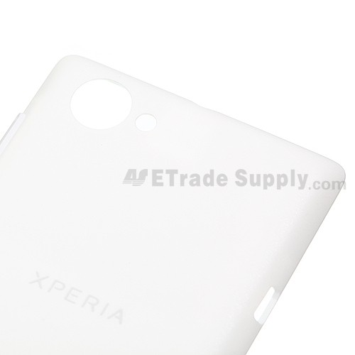 OEM Sony Xperia L S36h Battery Door - White - With Xperia Logo