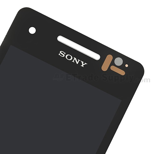 The Top Part of Sony Xperia V LT25i LCD Screen and Digitizer Assembly