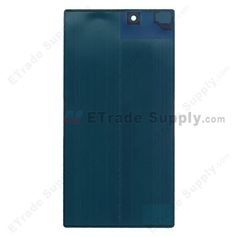 Sony Xperia Z Ultra Xl39h Battery Door Black With Sony