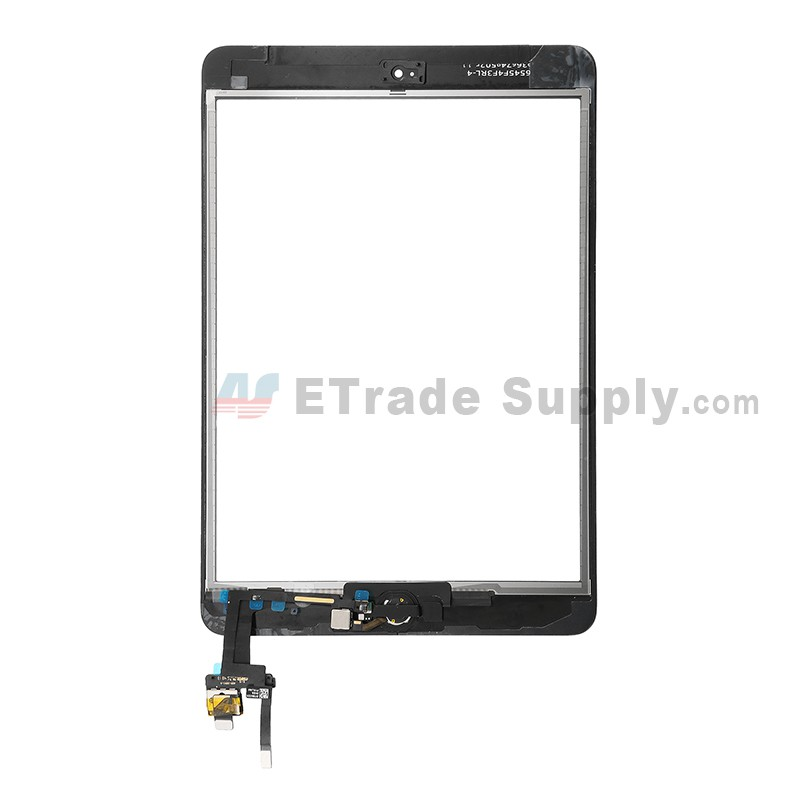 Front Touch Screen Glass Digitizer Assembly Replacement /& IC for iPad Mini 1 2+T