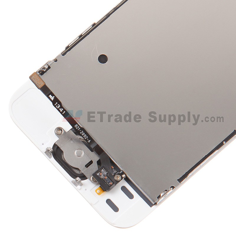 huge selection of fcc5c f9d65 For Apple iPhone 5S LCD Screen and Digitizer Assembly with Frame and Home  Button Replacement - Gold - Grade S