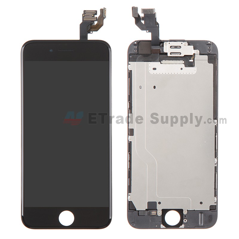 iphone 6 lcd replacement apple iphone 6 lcd and digitizer assembly with small parts 14990