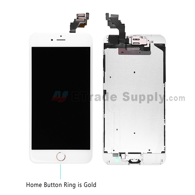 iphone 6 plus lcd replacement apple iphone 6 plus lcd and digitizer assembly gold 5198
