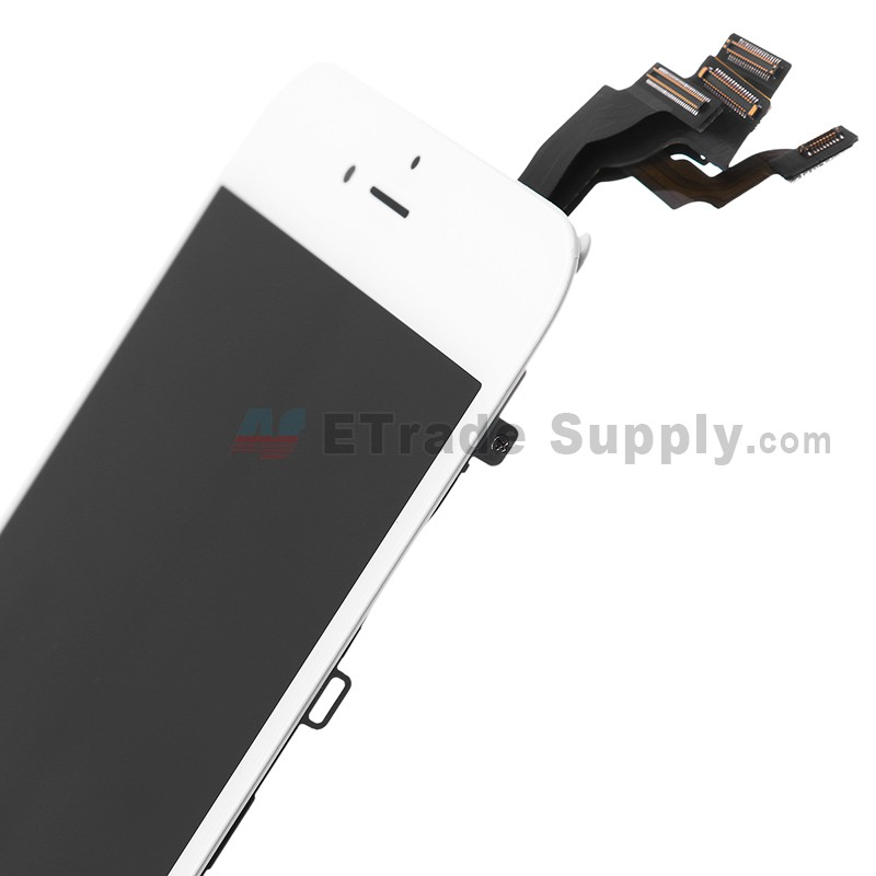 Apple Iphone 6 Plus Lcd Assembly With Frame And Small Parts White