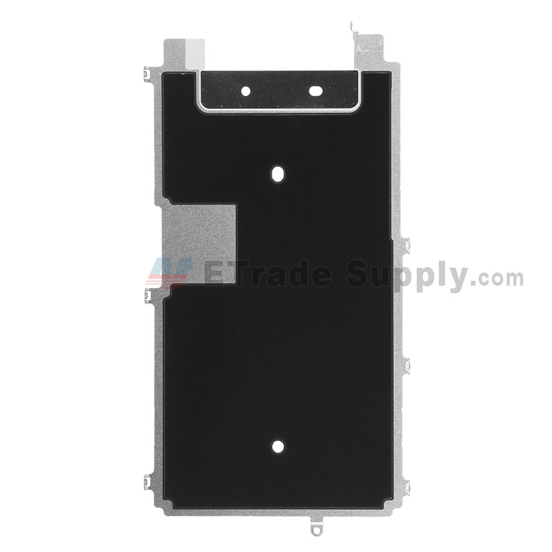timeless design c68d1 ca720 For Apple iPhone 6S LCD Back Plate with Heat Shield Replacement - Grade S+