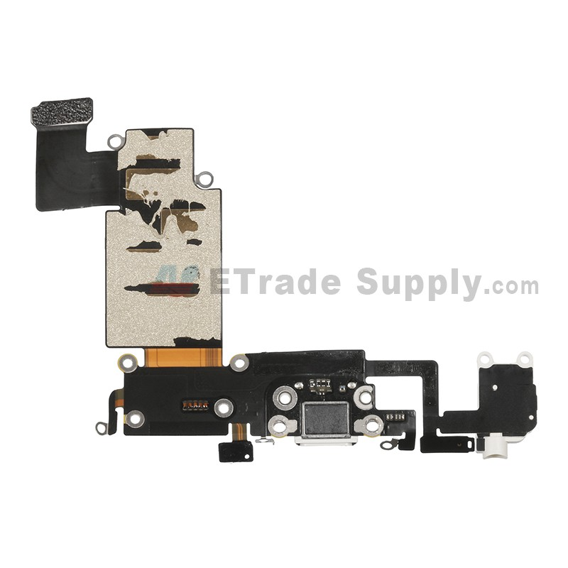 online retailer 36152 11ef8 For Apple iPhone 6S Plus Charging Port Flex Cable Ribbon Replacement -  White - Grade S+