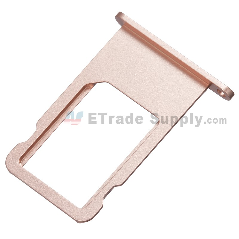 size 40 52af1 8b564 For Apple iPhone 6S Plus SIM Card Tray Replacement - Rose Gold - Grade S+