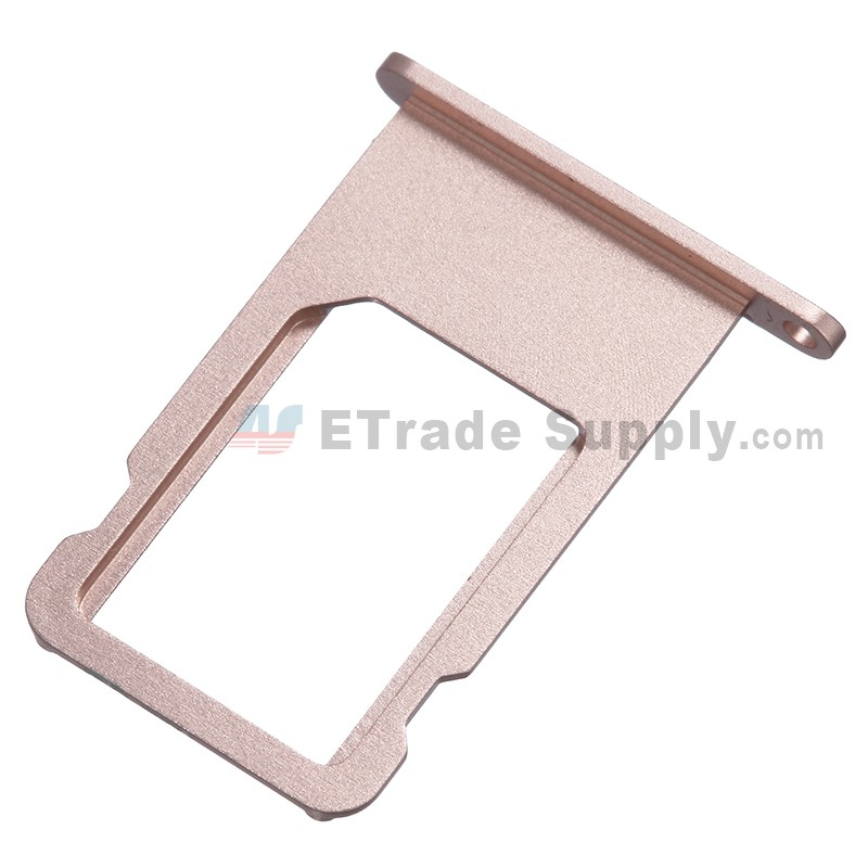 new arrivals 0f6d5 a85f8 For Apple iPhone 6S SIM Card Tray Replacement - Rose Gold - Grade S+