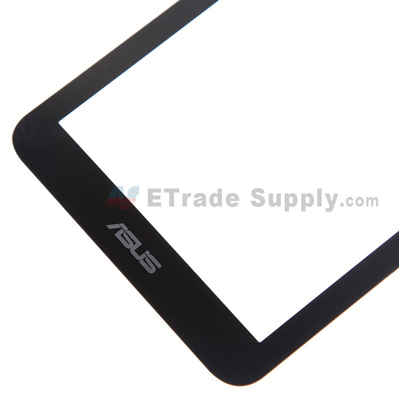For Asus Memo Pad 7 ME170C Digitizer Touch Screen Replacement - Black -  With Logo - Grade S+