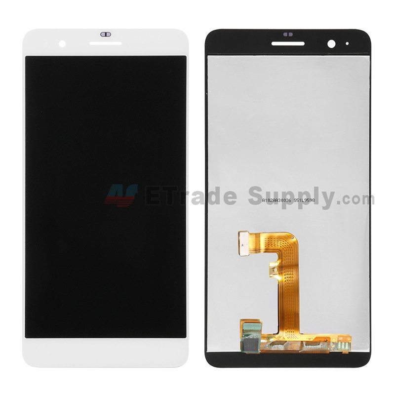 For Huawei Honor 6 Plus LCD Screen and Digitizer Assembly Replacement -  White - Without Logo - Grade S+
