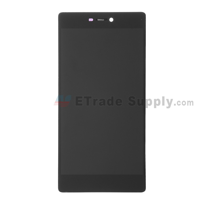 Black Color : Gold Premium Quality LCD Screen and Digitizer Full Assembly for Huawei P8 Standard Edition Replacement Part