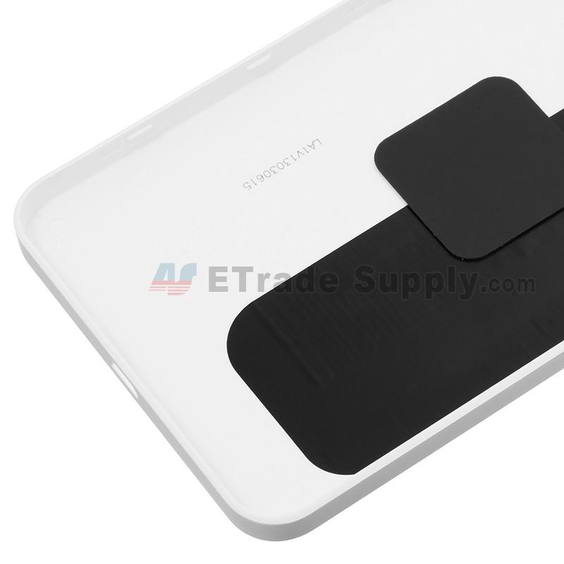 Microsoft Lumia 640 Xl Lte Dual Sim Battery Door White