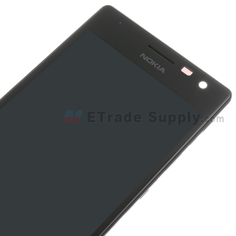 Nokia Lumia 730 Dual Sim Lcd Screen And Digitizer Assembly Black