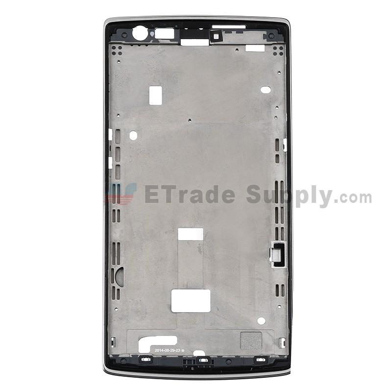 OnePlus One Front Housing Bezel Frame Part - ETrade Supply
