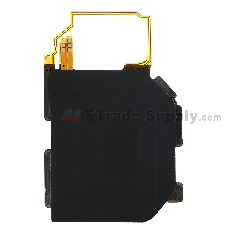 For Samsung Galaxy S6 Series Wireless Charger Chip with Flex Cable Ribbon  Replacement - Black - Grade S+