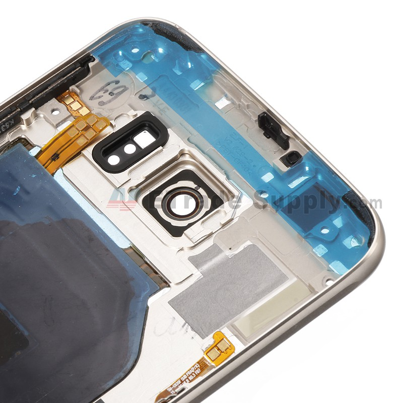 For Samsung Galaxy S6 SM-G920F Rear Housing Replacement - Gold - Grade S+