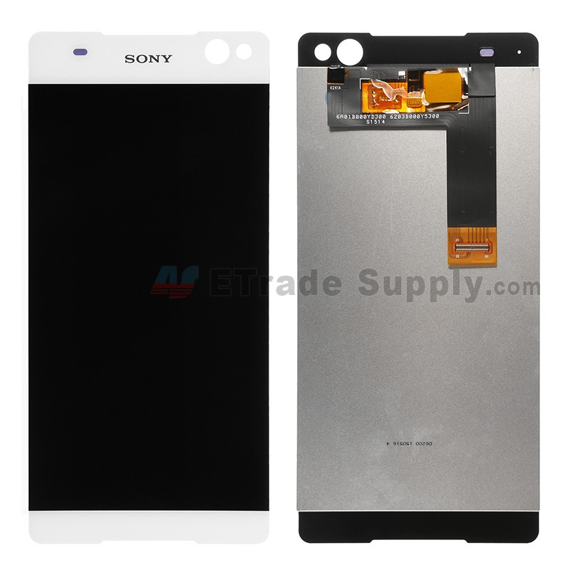 Onwijs Sony Xperia C5 Ultra LCD Screen and Digitizer Assembly White LP-96
