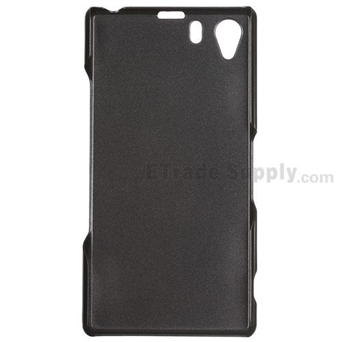 Sony Xperia Z1 L39h Protective Case Black ETrade SupplyXperia Z1 Protective Case