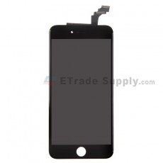 For AP APH 6 Plus LCD Screen and Digitizer Assembly with Frame Replacement - Black - Grade R (1)