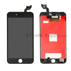 For Apple iPhone 6S Plus LCD Screen and Digitizer Assembly with Frame Replacement - Black - Grade R (0)