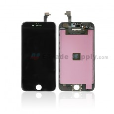 For Apple iPhone 6 LCD Screen and Digitizer Assembly with Frame Replacement - Black - Grade A (0)