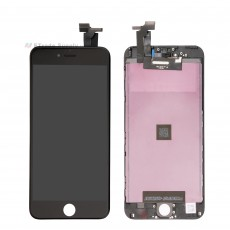 For Apple iPhone 6 Plus LCD Screen and Digitizer Assembly with Frame Replacement - Black - Grade R (0)